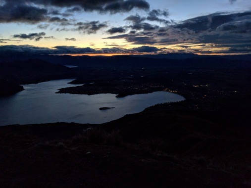 Sunrise Hike up Roy's Peak - First Light